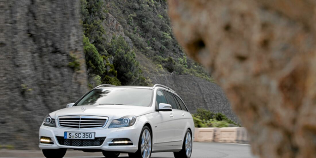 CAV 0911 Zugfahrzeuge perfektes Auto - Kombi - Mercedes C-Klasse