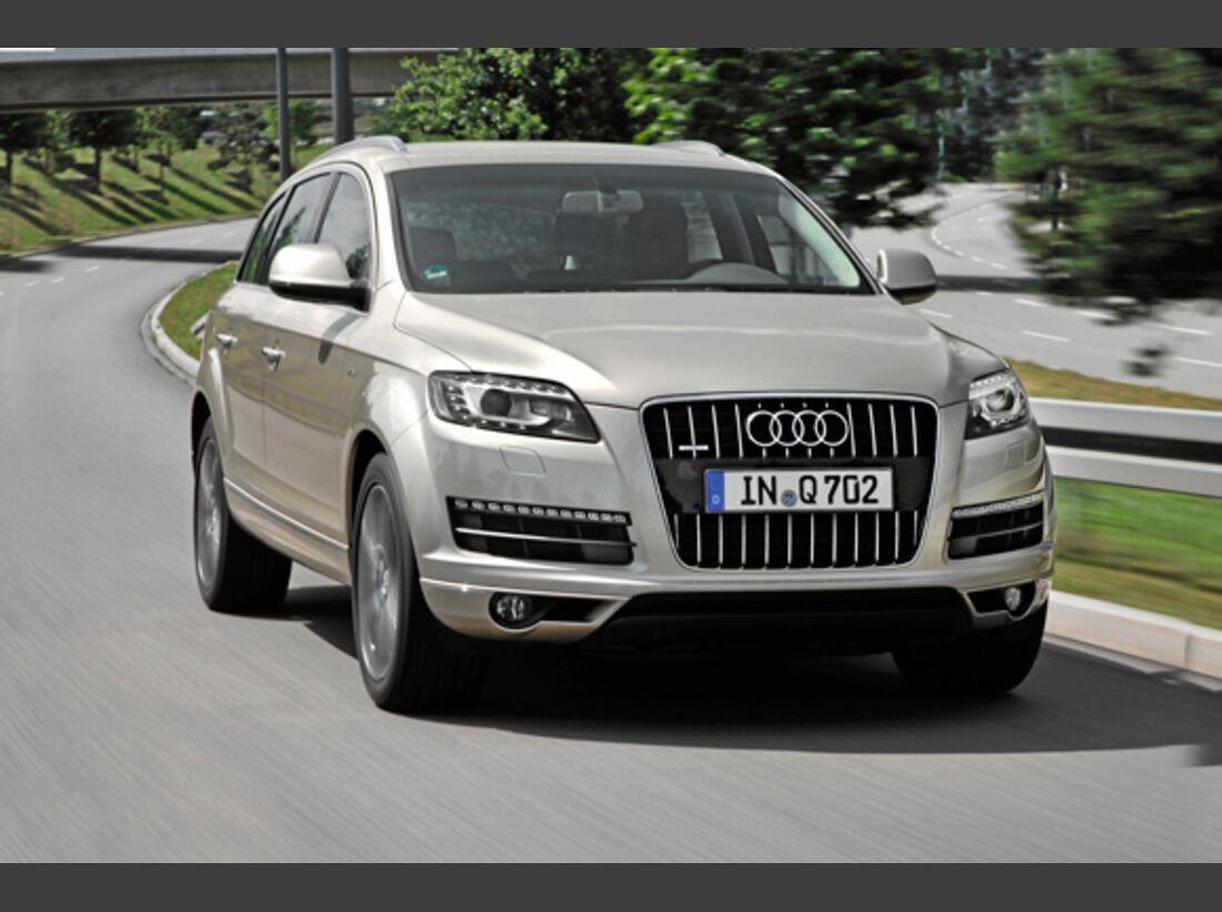 CAV 0911 Zugfahrzeuge perfektes Auto - SUV - Audi Q7
