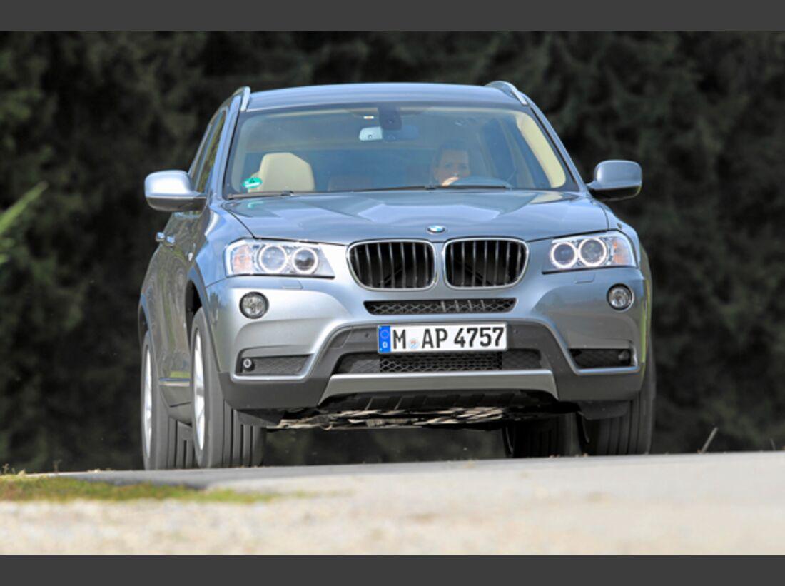 CAV 0911 Zugfahrzeuge perfektes Auto - SUV - BMW X3
