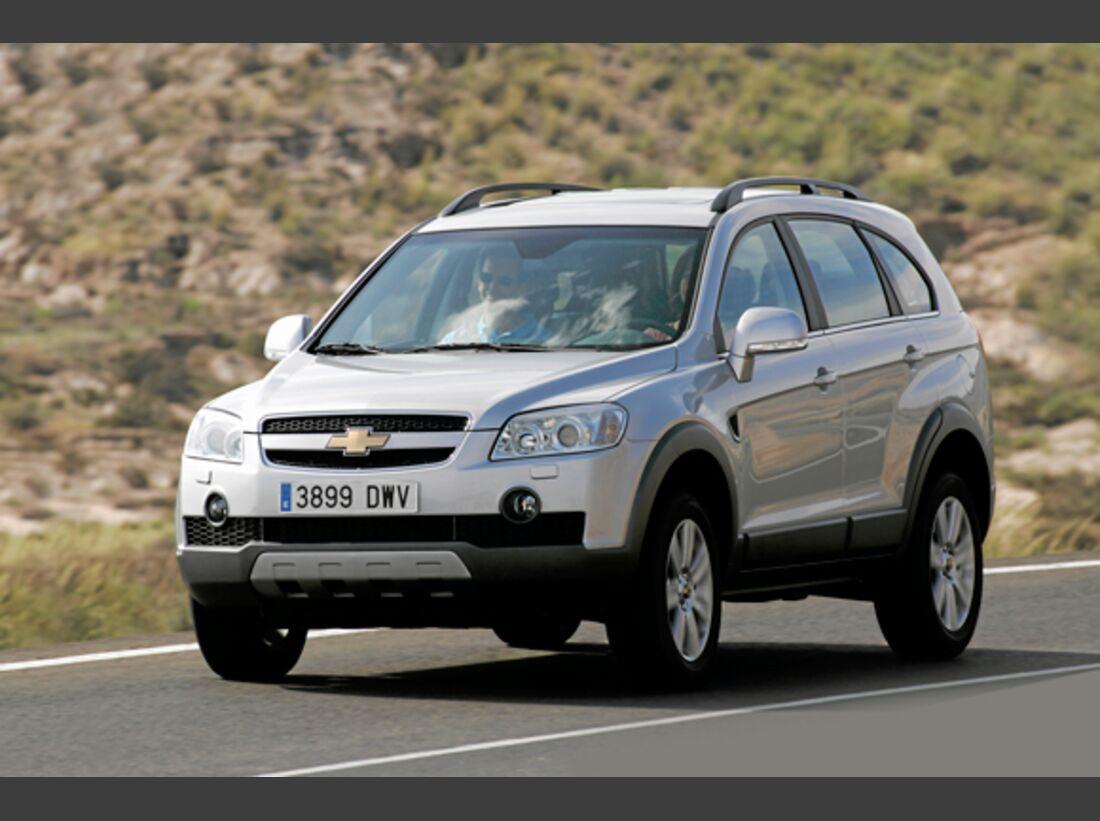 CAV 0911 Zugfahrzeuge perfektes Auto - SUV - Chevrolet Captiva