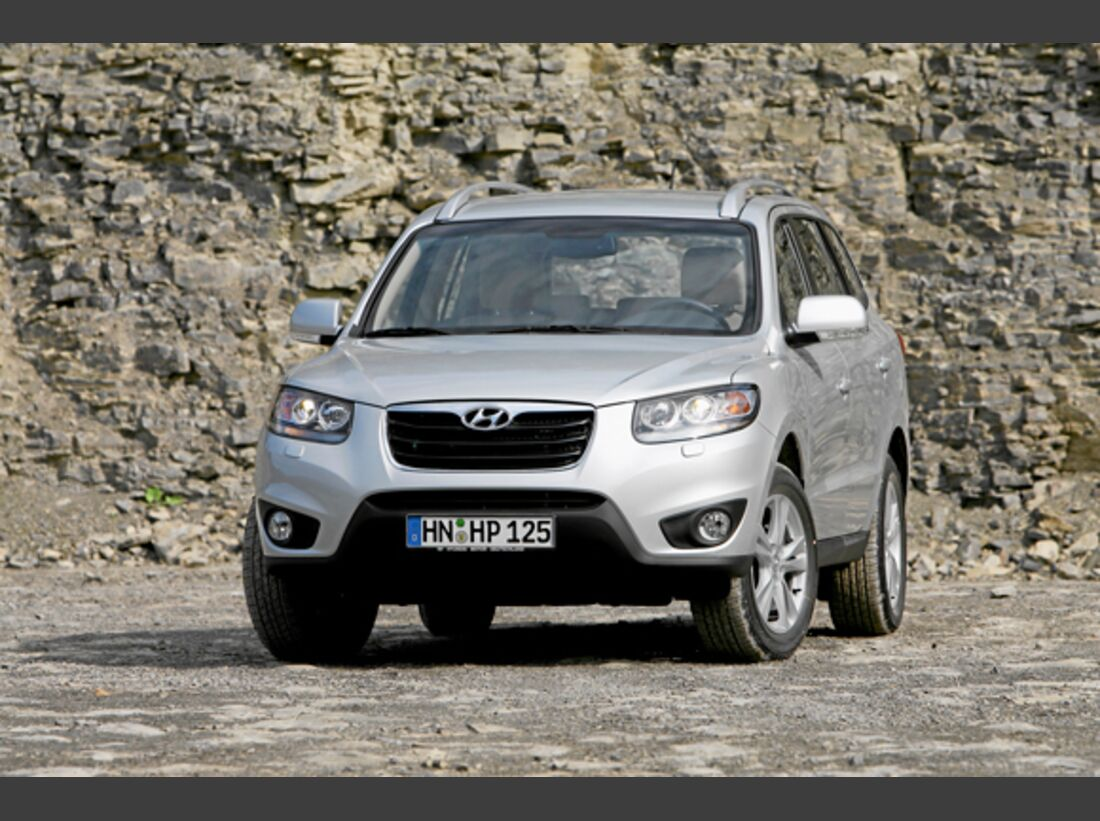 CAV 0911 Zugfahrzeuge perfektes Auto - SUV - Hyundai SantaFe