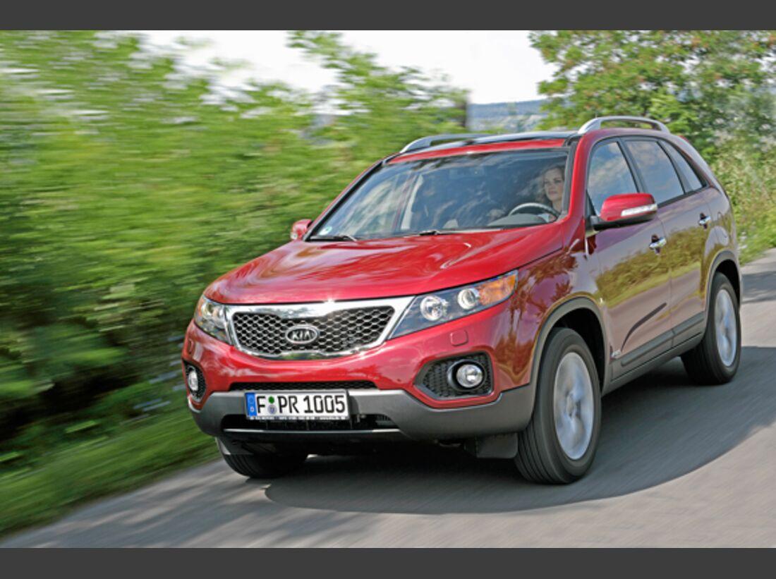 CAV 0911 Zugfahrzeuge perfektes Auto - SUV - Kia Sorento