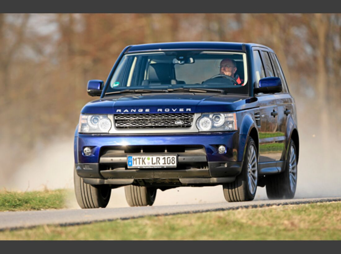 CAV 0911 Zugfahrzeuge perfektes Auto - SUV - Land Rover Range Rover HDS-16