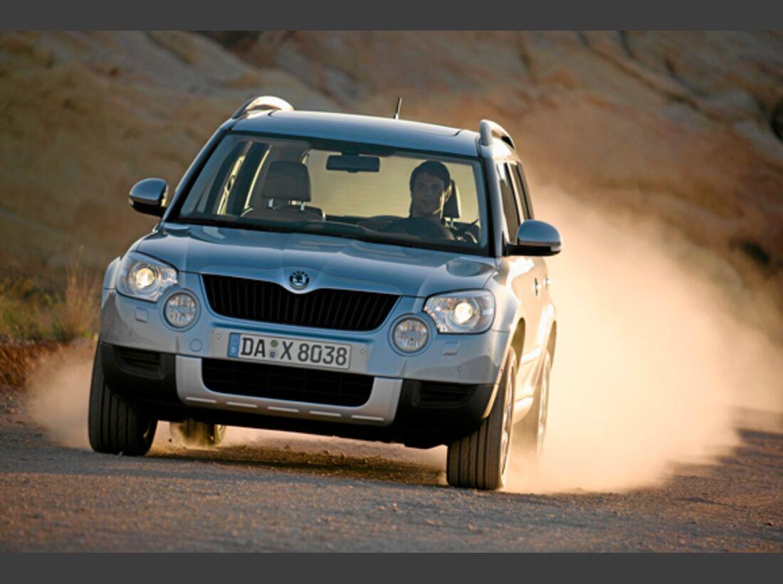 CAV 0911 Zugfahrzeuge perfektes Auto - SUV - Skoda Yeti