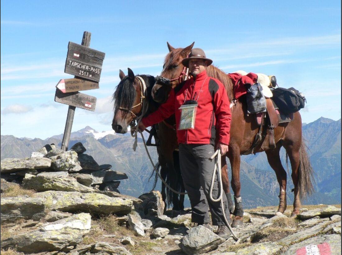 CAV Alpenritt 2010 Wanderritt Andreas Funke 07