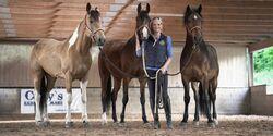 CAV Die Drei Yvonne Gutsche Gruppenfoto