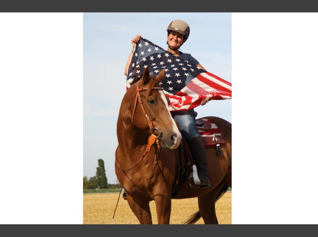 CAV Fan-Pferde Quinto Natalie Wood