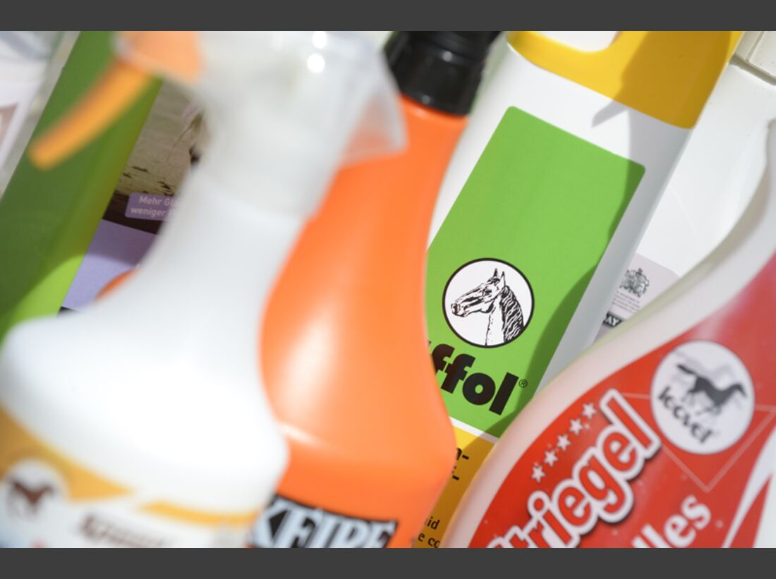 CAV  Fellspray Mähnenspray Schweifspray Pflege Test 3
