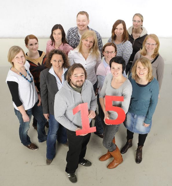 CAV Jubiläum CAVALLO Team-Foto Redaktion Geburstag