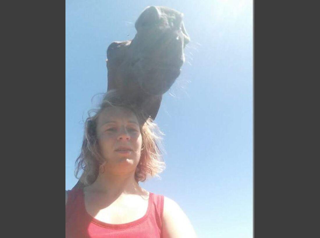 CAV Leserfotos Selfies Pferde Beatrice
