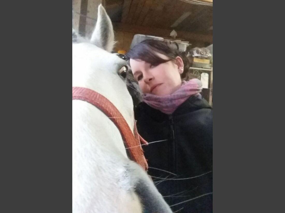 CAV Leserfotos Selfies Pferde Marion