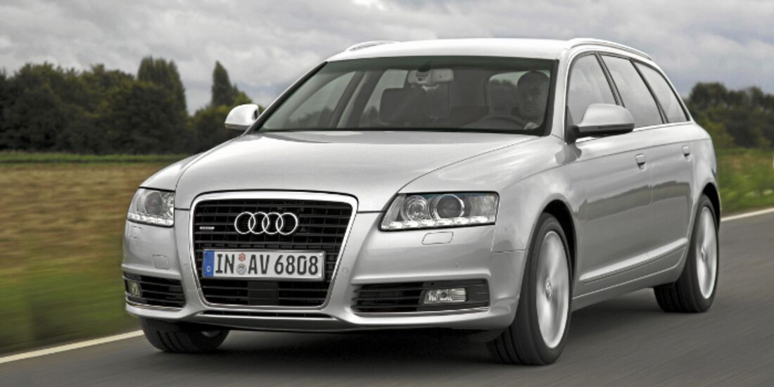 CAV MS Leserwahl Audi A6 Produkte 2011