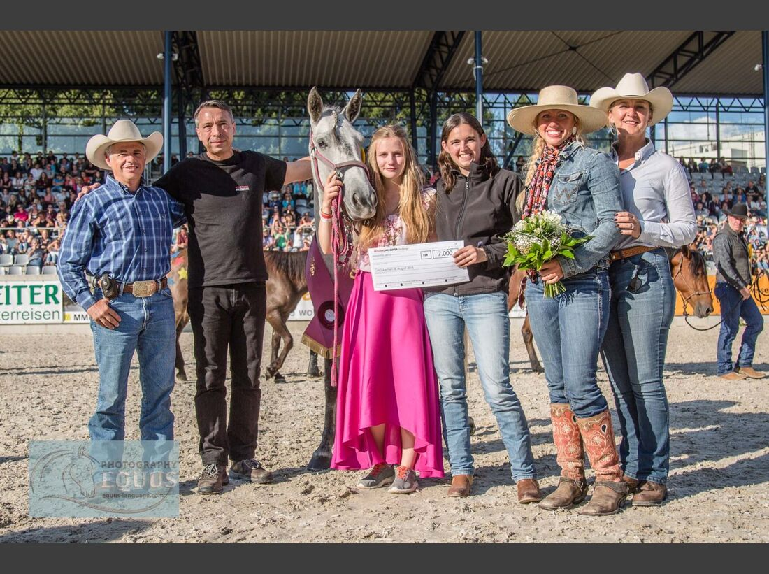 CAV Mustang Makeover Siegerin Maja Hegge
