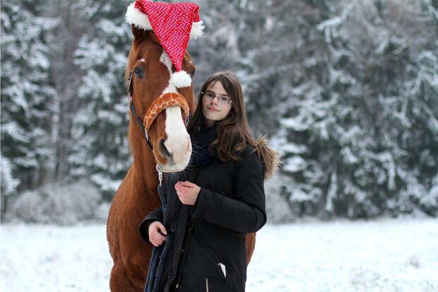 CAV Nikolaus mit Pferden Janine Boca
