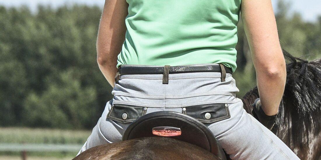 CAV Reiter Rücken