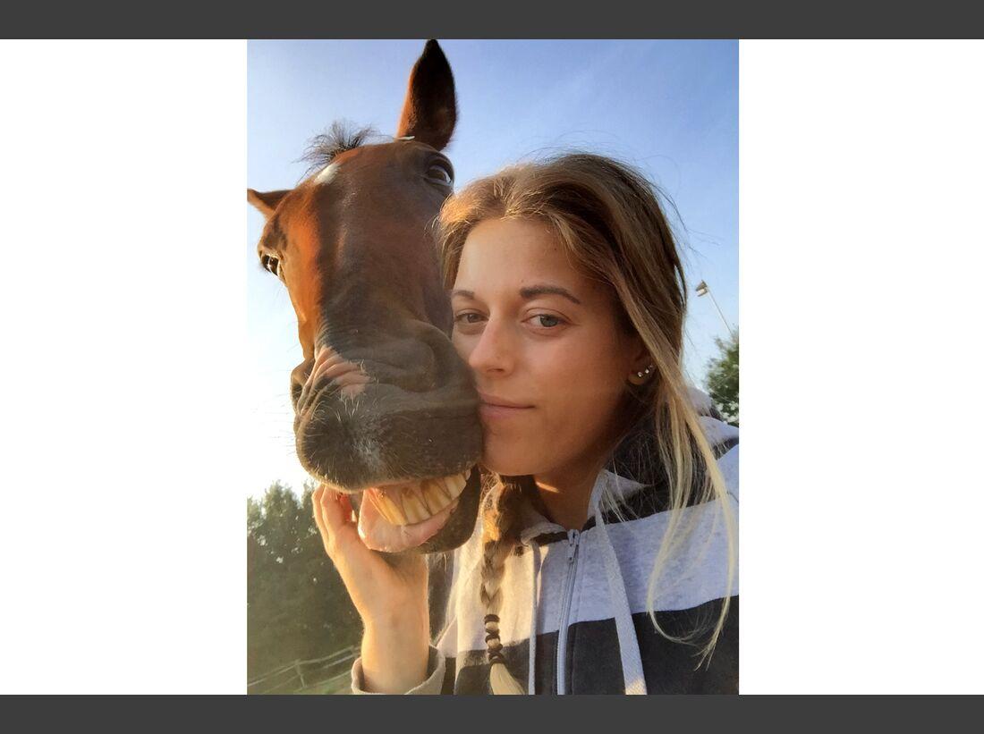 CAV Selfies Tina Raunheim